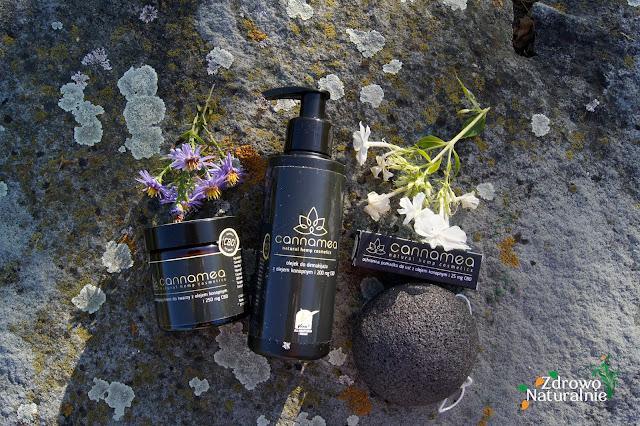 Naturalne kosmetyki z olejem konopnym i CBD - Cannamea