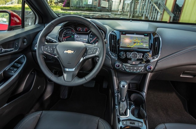 2017 Chevrolet Cruze Diesel Sedan Interior