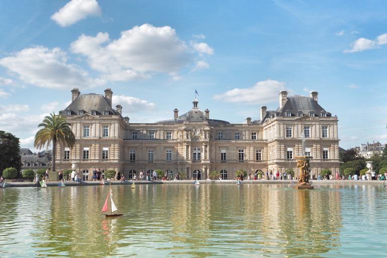 Palais dans le jardin du Luxembourg