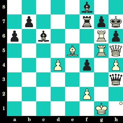 Les Blancs jouent et matent en 2 coups - Mark Taimanov vs Erich Eliskases, Buenos Aires, 1960