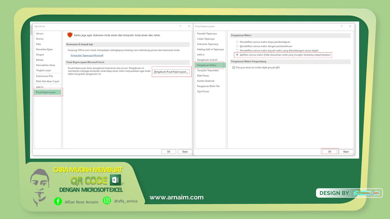 Cara Mudah Membuat QR Code dengan Microsoft Excel