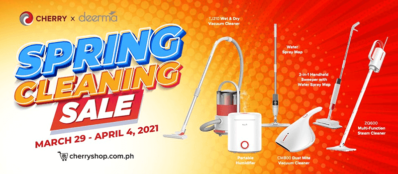Deal: CHERRY to cut the price of several home devices on its Spring Cleaning Sale