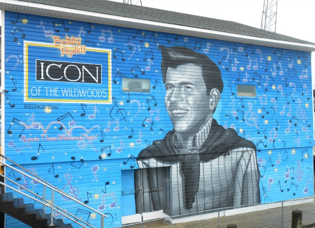 Bobby Rydell Wall Mural - Wildwood Boardwalk