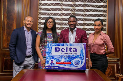 Tobi Bakre signs endorsement deal with Delta Soap