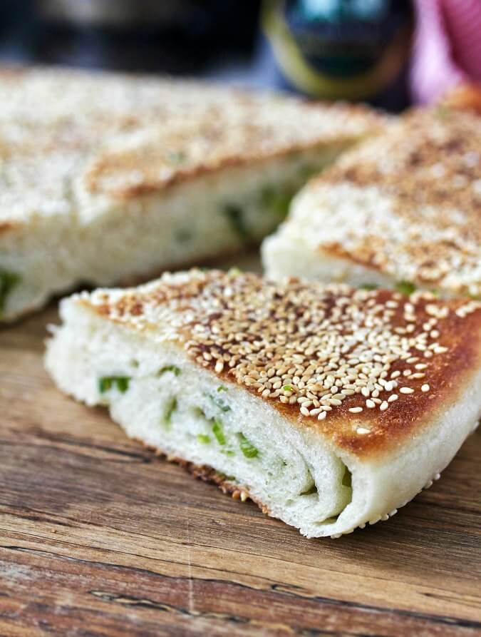 Sesame Scallion Bread from Asiia