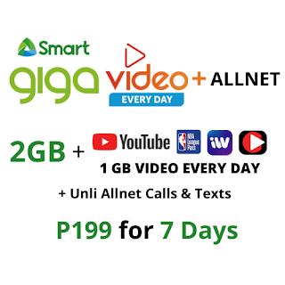 Smart GIGA VIDEO+ ALLNET 199