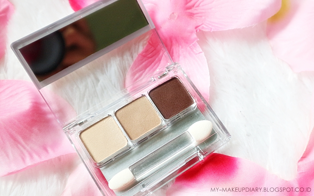 [REVIEW] WARDAH EYESHADOW TRIO SERI G - My-Makeupdiary