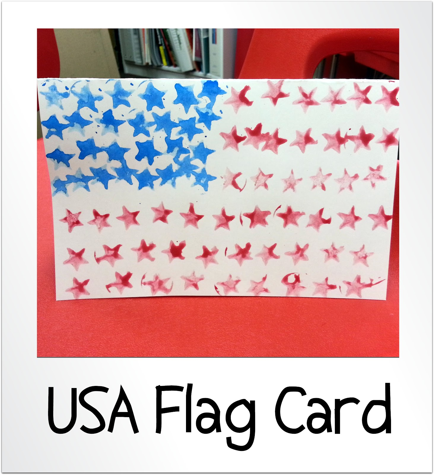 Patriotic Usa Flag Cards Choices For Children