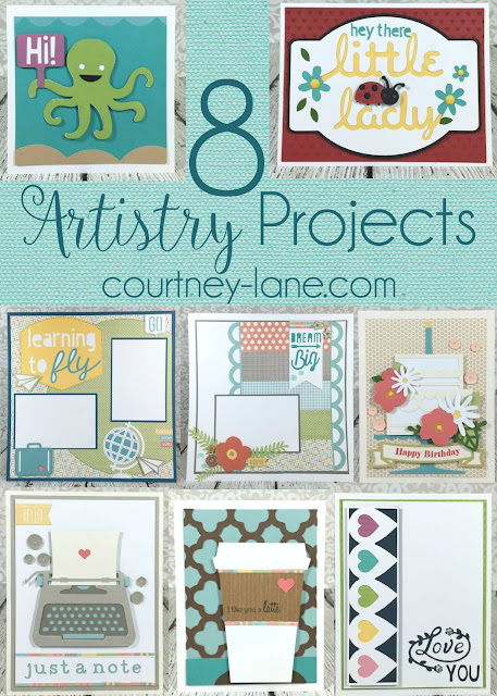 8 Cricut Artistry projects