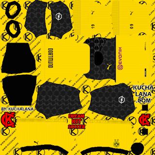 Borussia Dortmund 2019/2020 Kit - DLS20 Kits