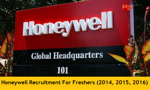 Honeywell Off Campus Drive 2017 Job Openings For Freshers