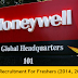 Honeywell Off Campus Drive 2017 Job Openings For Freshers.