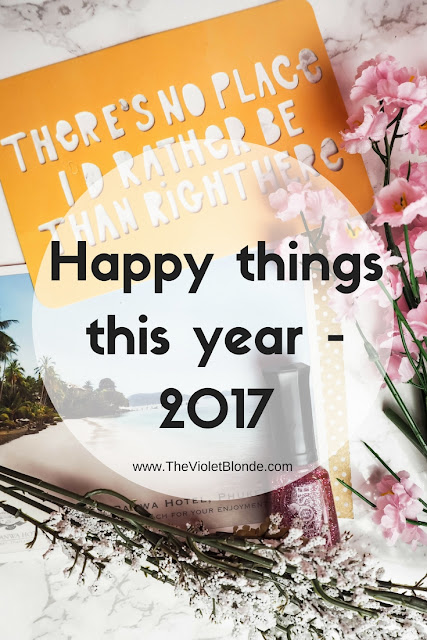 Happy things this year