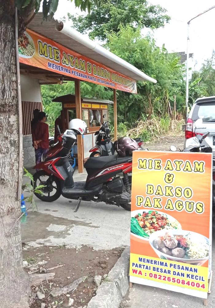 Bakso Mie Ayam Omah Kayu Pak Agus Mrican