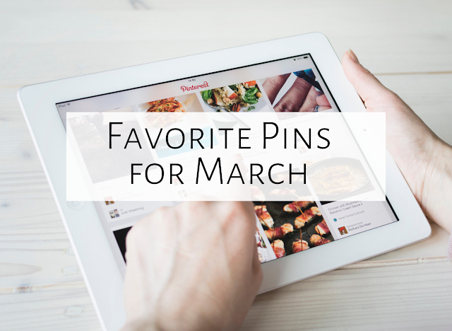 Five Favorite Pins of March