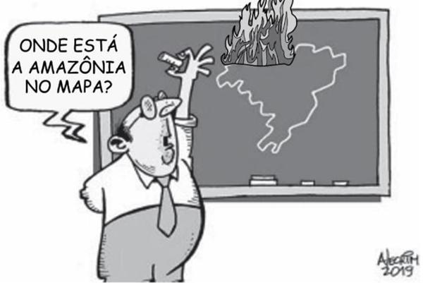 Onde está a amazônia no mapa