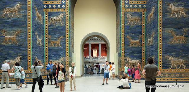 Os Portões de Ishtar, no Museu Pergamon