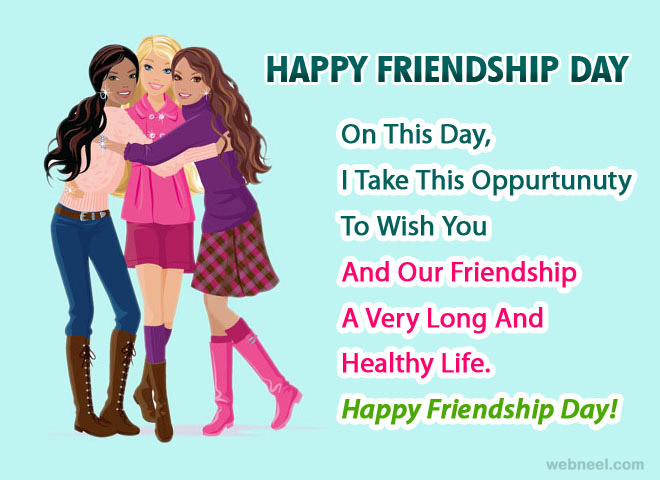 3 Friendship Day Greetings Wishes