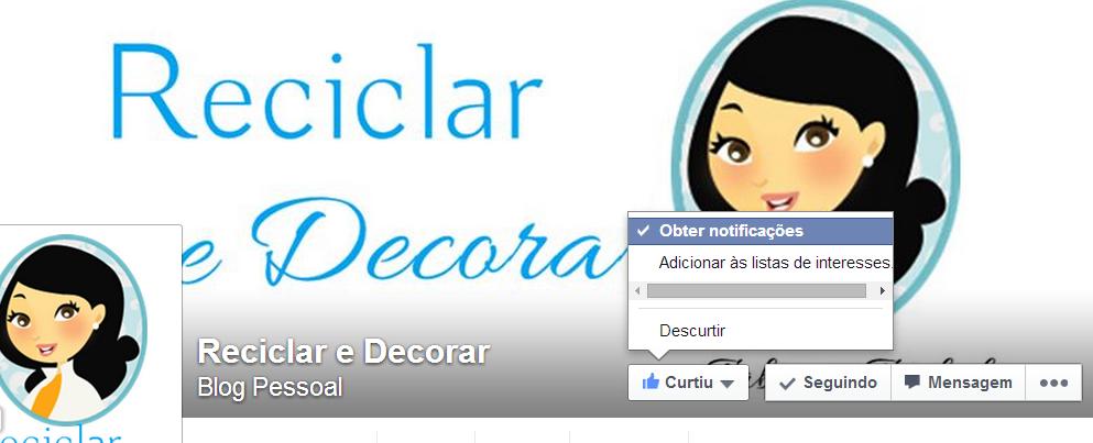 topo Reciclar e Decorar facebook