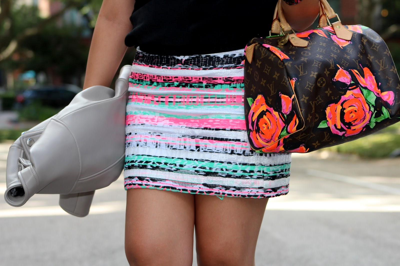 milly illusion skirt