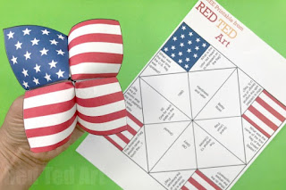 Fourth of July printable activities for Kids