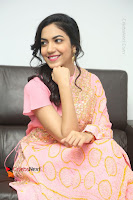 Actress Ritu Varma Pos in Beautiful Pink Anarkali Dress at at Keshava Movie Interview .COM 0297.JPG