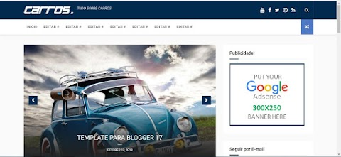 Carro Blogger Template