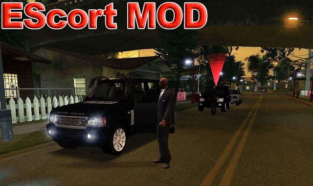 GTA San Andreas EScort Mod For Pc
