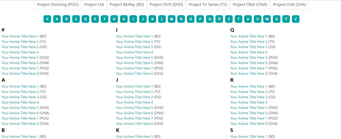 Cara Membuat Sitemap List Anime Di Blogger