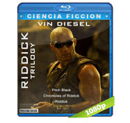Trilogia Las Cronicas de Riddick (2000-2013) Full HD BRRip 1080p Audio Dual Latino/Ingles 5.1