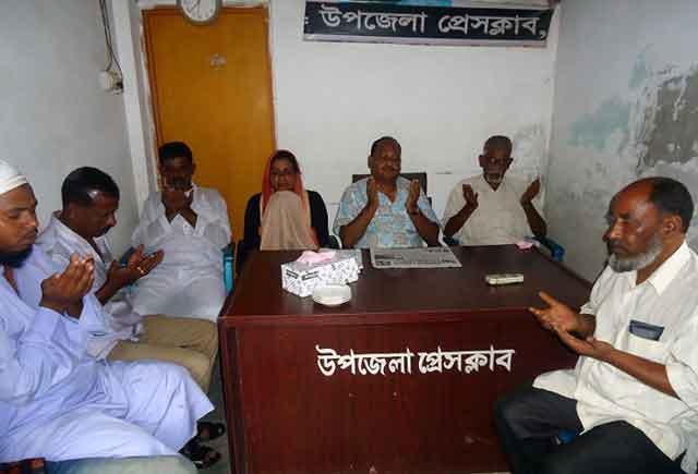 সাংবাদিক মোস্তাক এলাহী বাদশার মৃত্যুতে বকশীগঞ্জ উপজেলা প্রেসক্লাবে শোকসভা