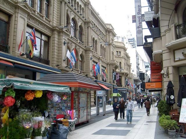 Compras em Buenos Aires no mês de novembro