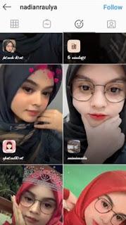 Nama Efek Instagram Love Orange