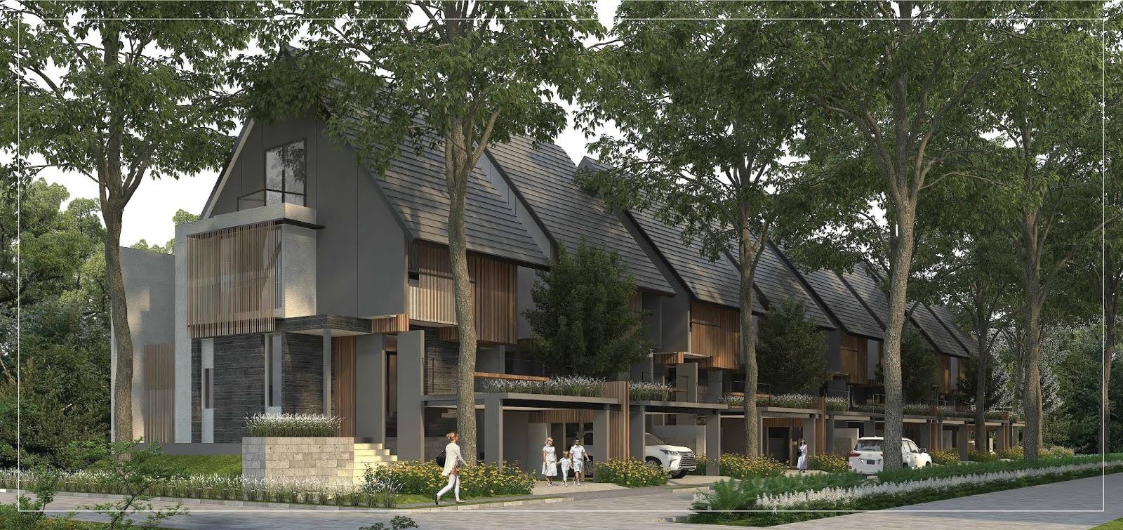 Cluster Caelus BSD City dibanderol mulai dari harga Rp3 miliar dan memiliki luas 112 meter persegi