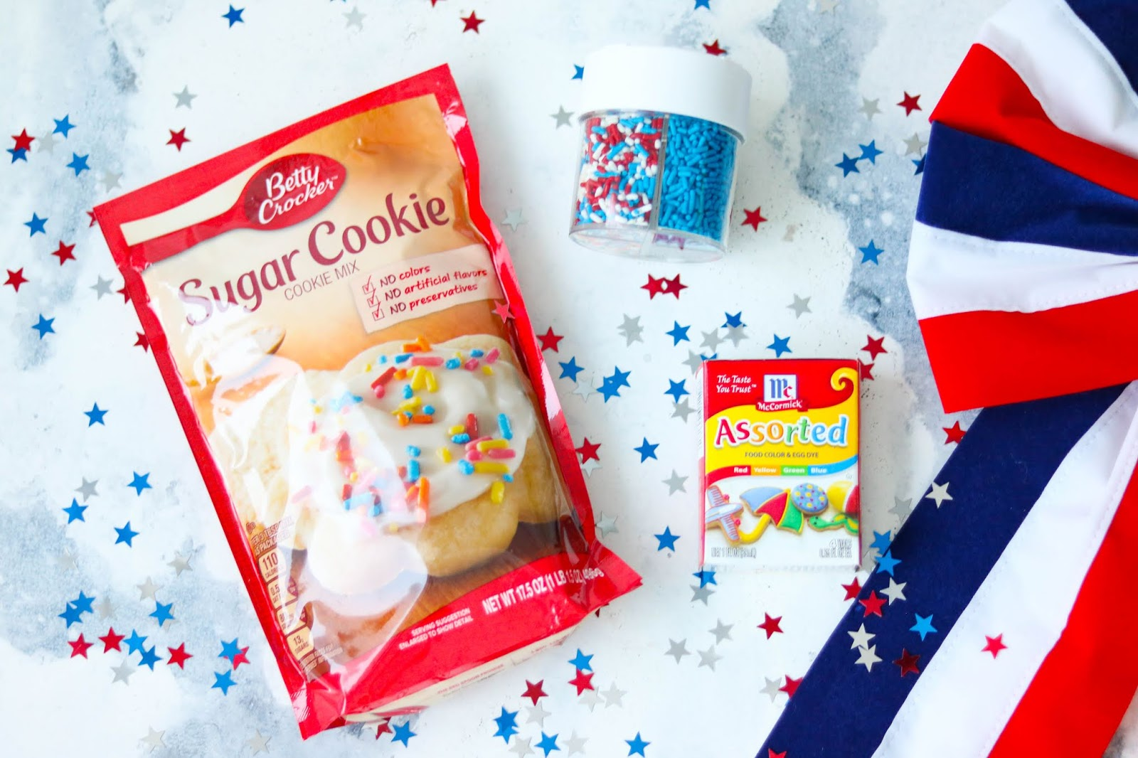 Easy patriotic cookies recipe