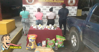 Cuatro delincuentes detenidos con 4 kilos de marihuana en Barinas