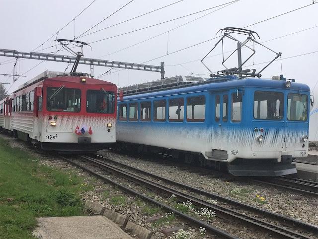 Vitznau-Rigi-Bahn und Arth-Rigi-Bahn