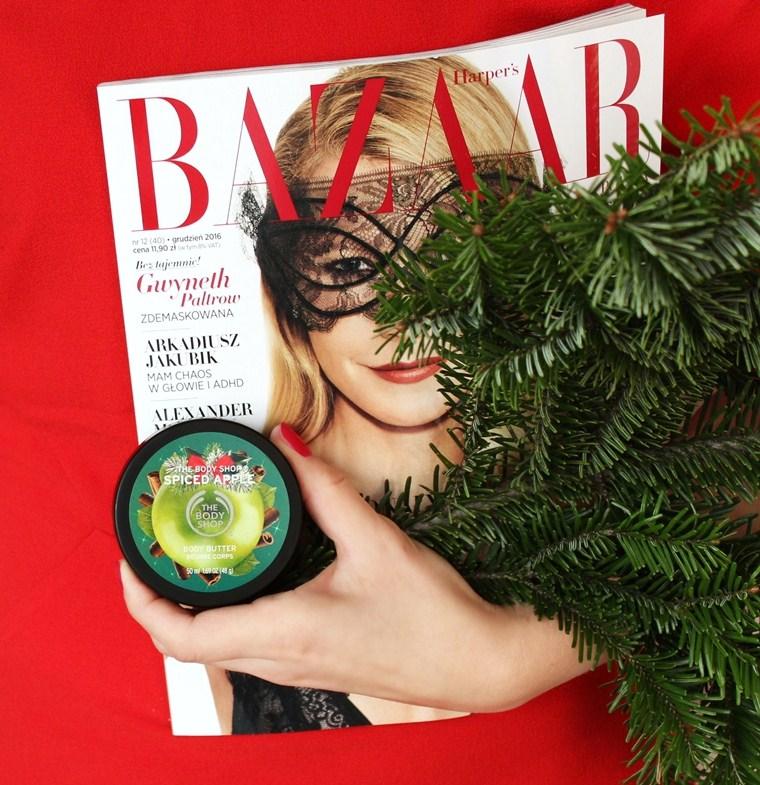 Kosmetyki o świątecznym zapachu, które musisz mieć - masło do ciała The Body Shop Spiced Apple