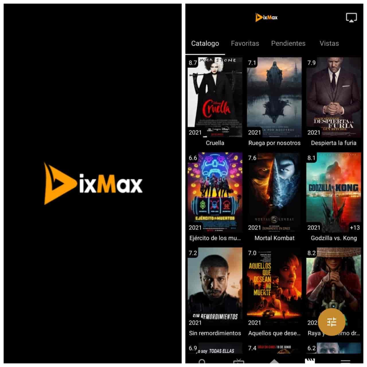 DIXMAX Es La MEJOR Aplicación Para VER PELICULAS Y SERIES En Android e iOS 2021