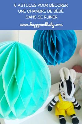 6 astuces pour décorer une chambre de bébé sans se ruiner