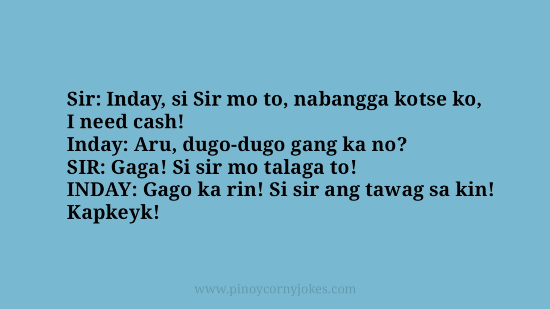 nabangga kotse best katulong jokes pinoy