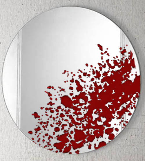 ☆笨狗狗★: 殺人魔鏡!你看到的…不會是你