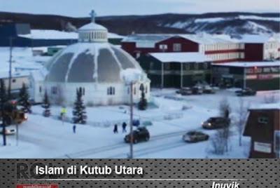 alhamdulillah, masjid iqaluit di kanada utara sudah selesai dibangun