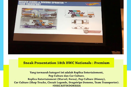 Sneak Presentation 18th HWC Nationals : Premium