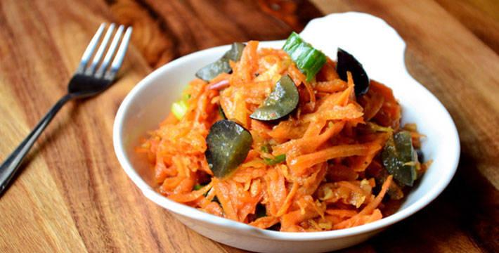 गाजर द्राक्षे कोशिंबीर - पाककला | Gajar Drakshe Koshimbir - Recipe