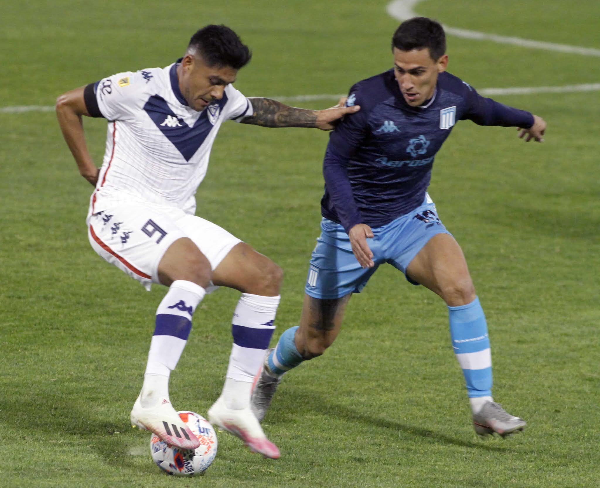 Racing y Vélez empataron porque no supieron encontrar el camino al gol