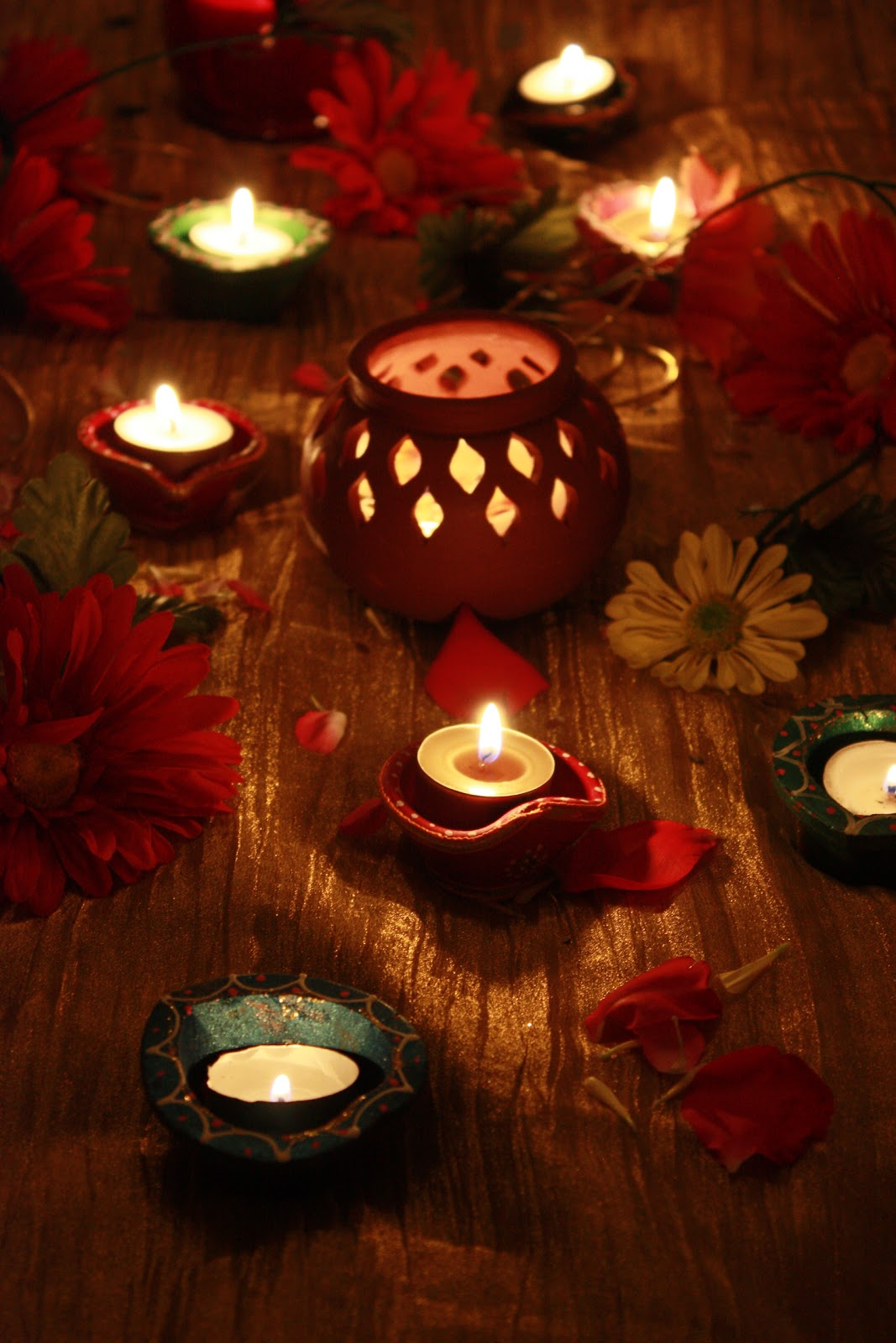 Sreelus Tasty Travels: Diwali Decoration Inspirations - Day I