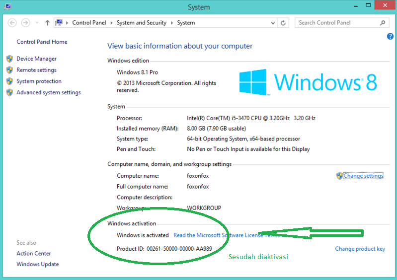 Cara Aktivasi Windows 8.1 dan Windows 10 Original (Asli)