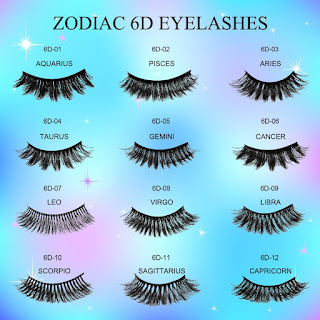 Zodiac Sign lashes
