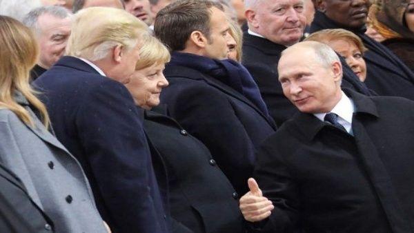 """Putin afirma que conversación con Trump en Francia fue """"buena"""""""